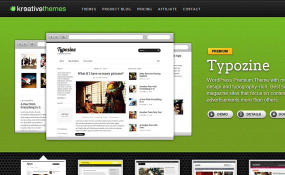 kreativethemes-marketplace für premium wordpress themes
