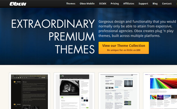 obox-marketplace für premium wordpress themes