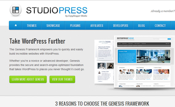studiopress-marketplaces für premium wordpress themes