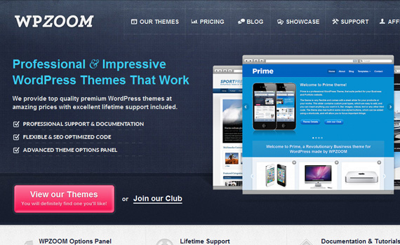 wpzoom-marketplace für premium wordpress themes