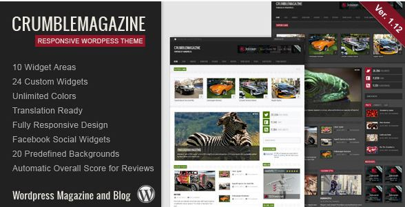 rumble Magazine Blog Template