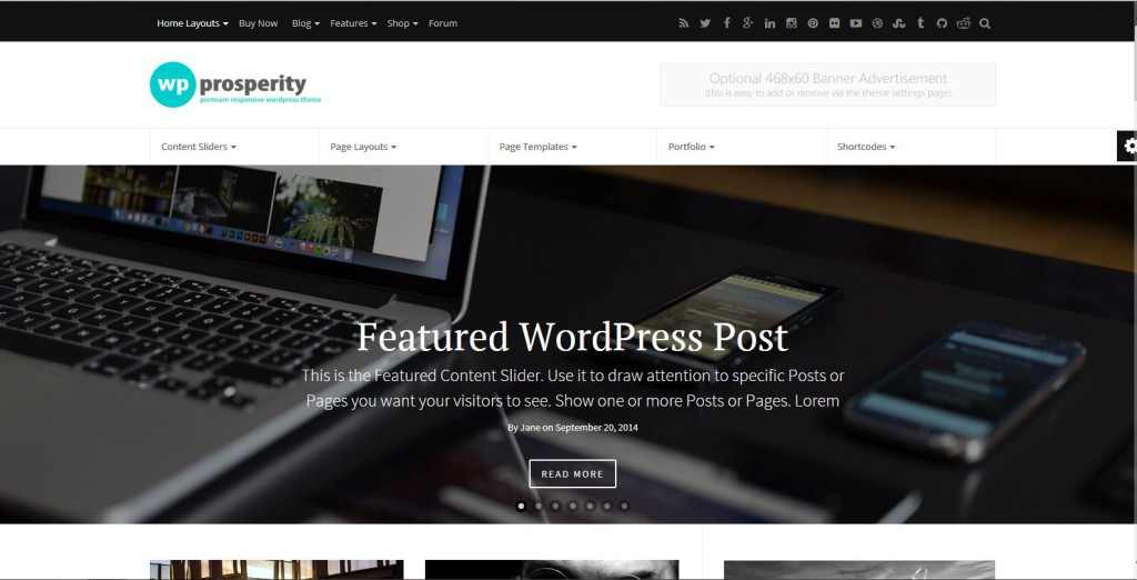 ROSPERITY-Premium Wordpress Template