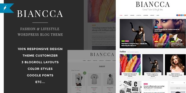 WP Biancca theme