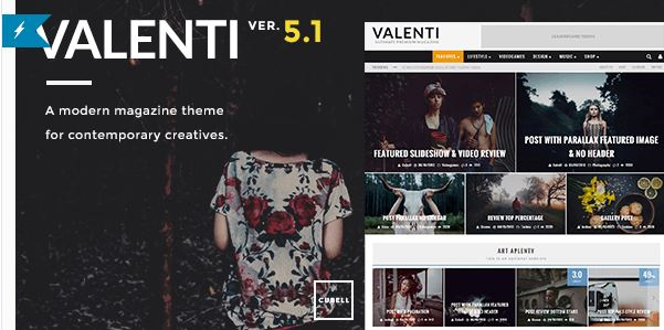 Valenti - WordPress Template