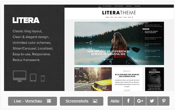 Wordpress Litera Theme