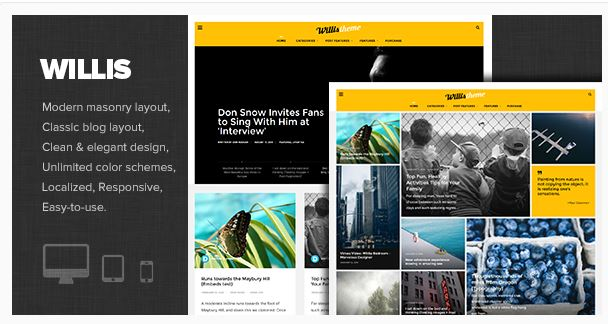 Wordpress Willis Theme